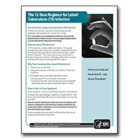 12-Dose Regimen for Latent TB Infection Patient Education Brochure