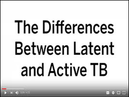 The Differences Between Latent and Active TB in English