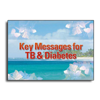 Key Messages for TB & Diabetes flipbook