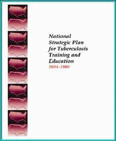 National Strategic Plan for Tuberculosis Training and Education 2004-2008