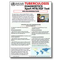 Tuberculosis Diagnostics: Xpert MTB/RIF Test